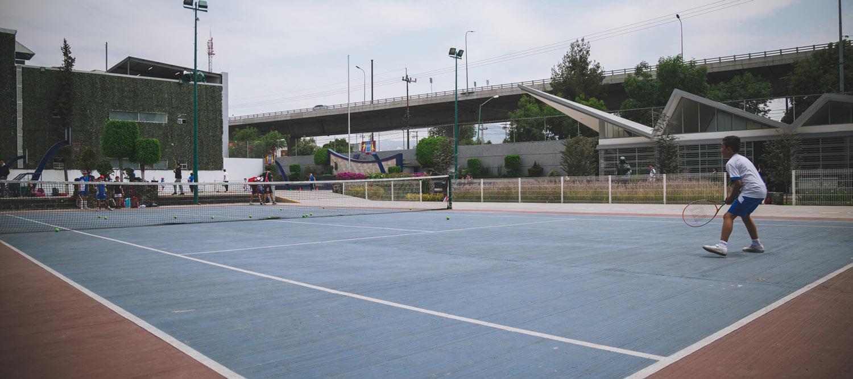 cancha de tenis colegio pedregal