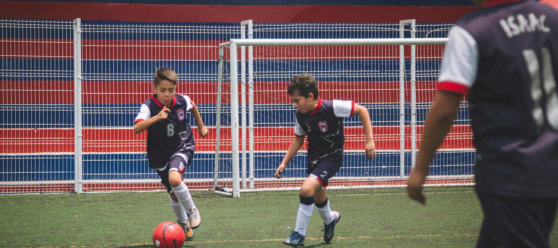 cancha futbol colegio simon bolivar