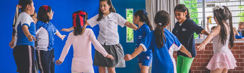 clases extracurriculares baile colegio simon bolivar