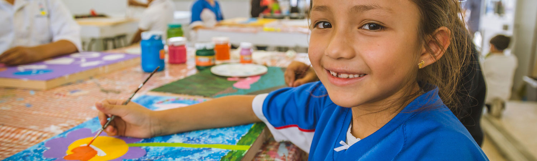 clases pintura en colegio simon bolivar