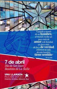 Día de San Juan Bautista de la Salle